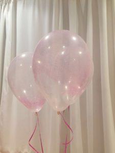 Pink Glitter Balloon